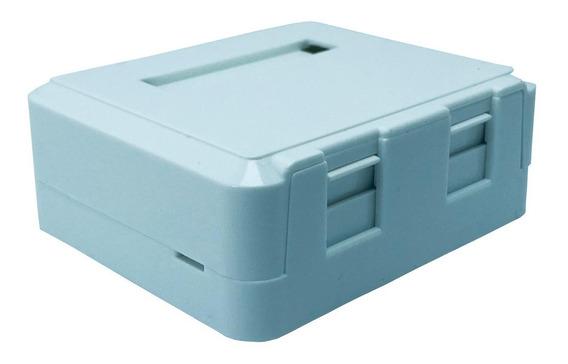 Caixa Superficie C/02 Saídas P/rj45 Surface Box Kit C/8pçs