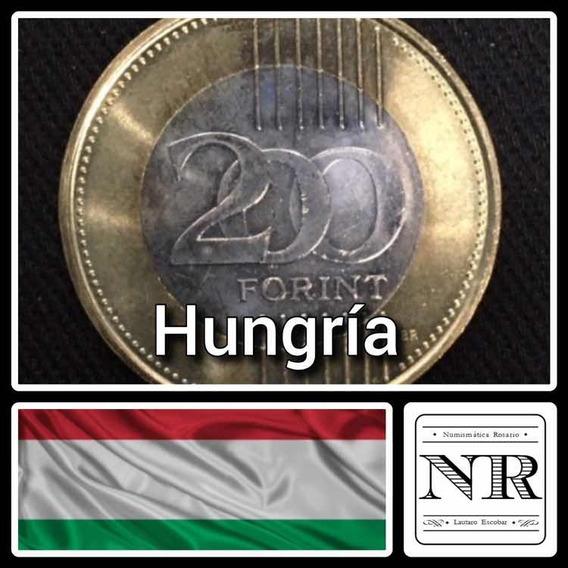 Hungria - 200 Florines - 2009 - Bimetalica - Km # 826