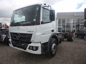 Nuevo Chasis Mercedes Atego 1726 0 Kms