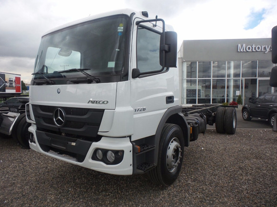 Nuevo Chasis Mercedes Atego 1726 0 Kms Modelo 2020