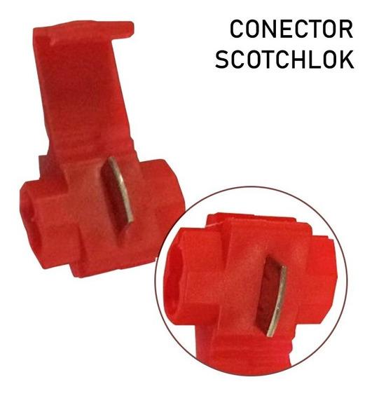 Emenda E Conector De Fios Scothlock 558 - 100 Unidades