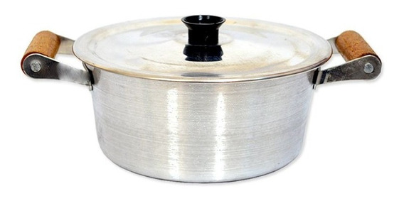 Panela Caçarola Arary Alumínio Com Tampa 3l