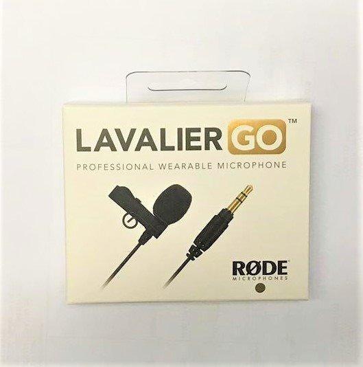 Microfone Rode Lavalier Go Original Com Garantia
