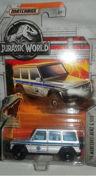Miniatura Mercedes Jurassic Park Matchbox 1:64 Lacrada !!!
