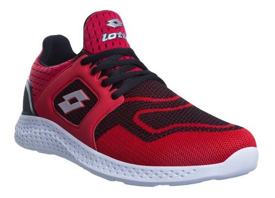 Tenis Booster Lotto Rojo