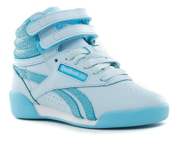 Botitas Freestyle Hi Kids Reebok