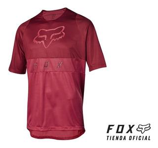 Remera Fox Defend Ss Moth Mtb Bmx #22985-465 -tienda Oficial