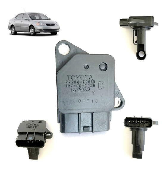 Sensor Maf Medidor Fluxo Ar Corolla 1.6 1.8 Rav4 22204-22010