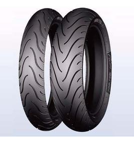 Pneu Par 110/70-17 140/70-17 Cb 300 Pilot Street Michelin