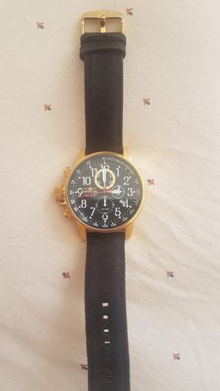 Relógio Invicta I Force 1515 Banhado A Ouro Cronógrafo