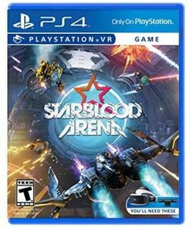 Starblood Arena - Juego Físico Ps4 - Sniper Game