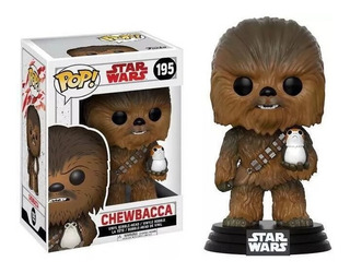 Funko Pop Chewbacca #195 Star Wars Regalosleon