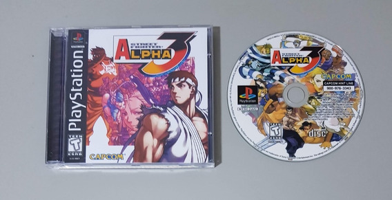 Ps1 - Street Fighter Alpha 3 - Patch