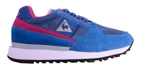Zapatillas Le Coq Eclat W Print Azul - Corner Deportes