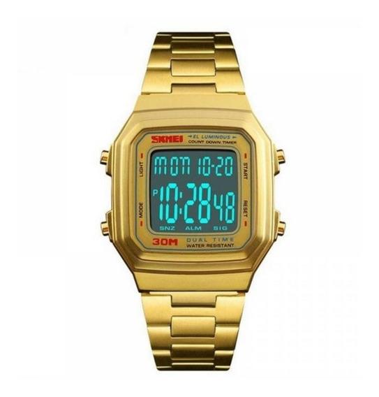 Relógio Feminino Digital Skmei 1337 A Prova D
