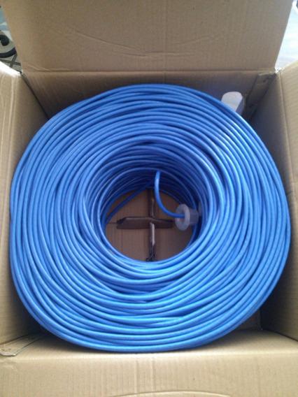 Bobina Cable De Red 60 Mt Cat 5 20vrdes