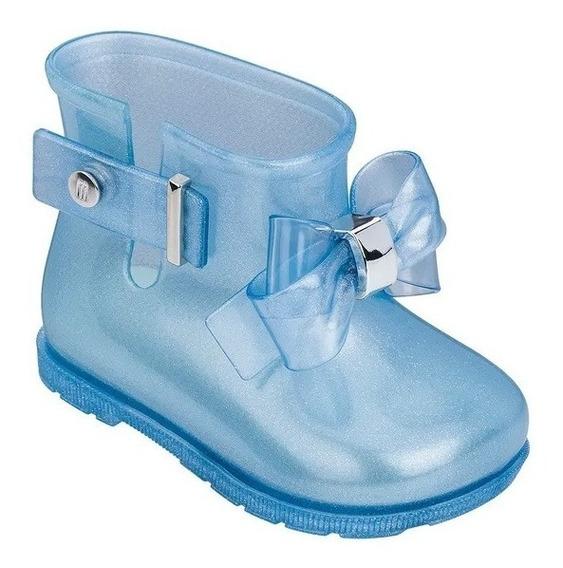 Mini Melissa Sugar Rain Princess Azul Perolado - Original!