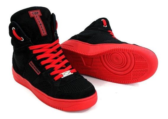 Botinha Sneakers Cano Alto Tenis Treinos Fitness Basquete Promoção Exclusiva