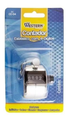 Contador Manual De Volumes Estatístico 4 Digitos