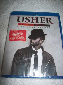 Blu Ray - Usher - Live From London - Lacrado