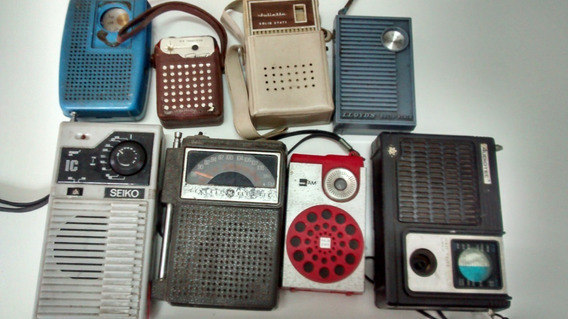 Lote 8 Rádios Antigos No Estado