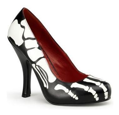 Zapatos Esquelto Calavera Catrina Para Damas Envio Gratis 1