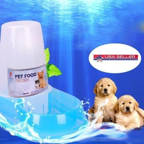 Imagen 1 de 5 de Estados Unidos Automático Bebedero Mascotas Auto Perro Recip