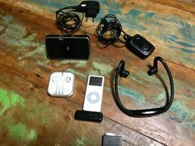 Ipod Nano 1 Geracao, 4g Com Varios Acessorios!!!
