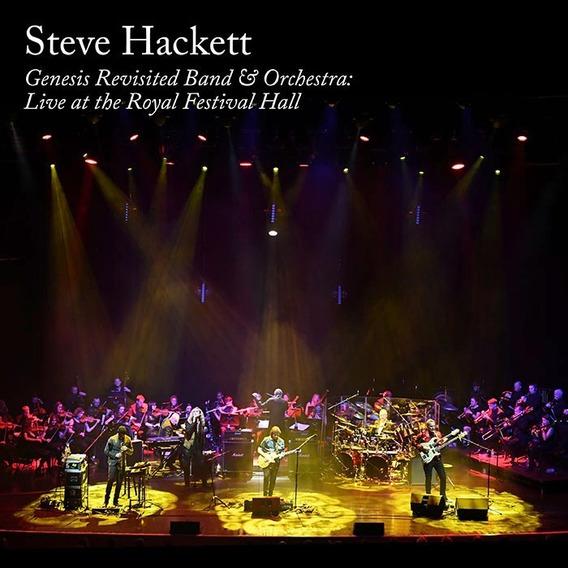 Steve Hackett Genesis Revisited 2 Cd + Dvd + Blu-ray Import