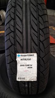 Llanta 205/70r14 Sumitomo Precio De $1200.00