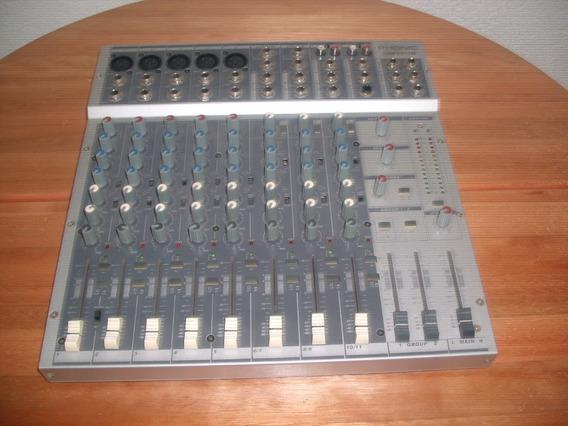 Mixer Phonic Mm1705 5 Canais Com Phantom Power