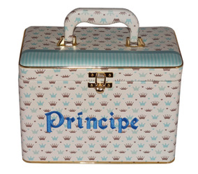 Álbum Box Príncipe Menino Azul 600 10x15 Nome Personalizado