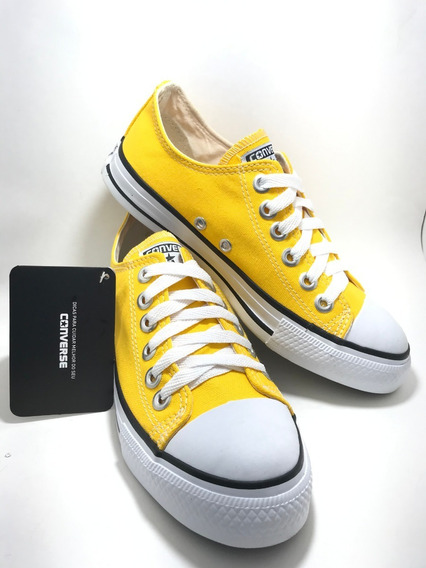 Tenis Converse All Star Ct Core Hi Amarelo Mostarda