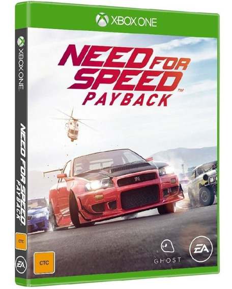 Need For Speed Payback Xbox One Original Midia Fisica Novo