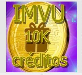 10 Mil Créditos Imvu-não É Presentes!