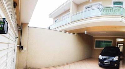 Sobrado Com 3 Dormitórios À Venda, 152 M² Por R$ 695.000 - Pirituba - São Paulo/sp - So0250