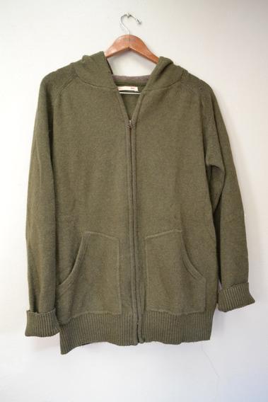 Sweater Con Cierre Y Capucha - Levis - Talle M