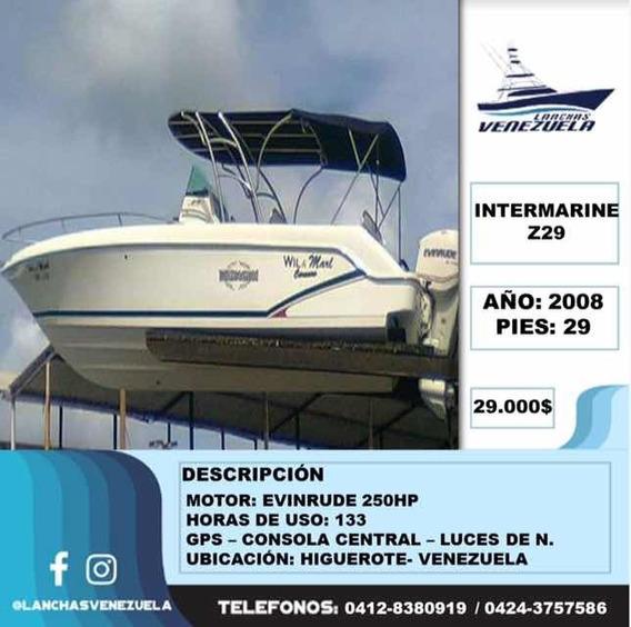 Lancha Intermarine Z29 Lv17
