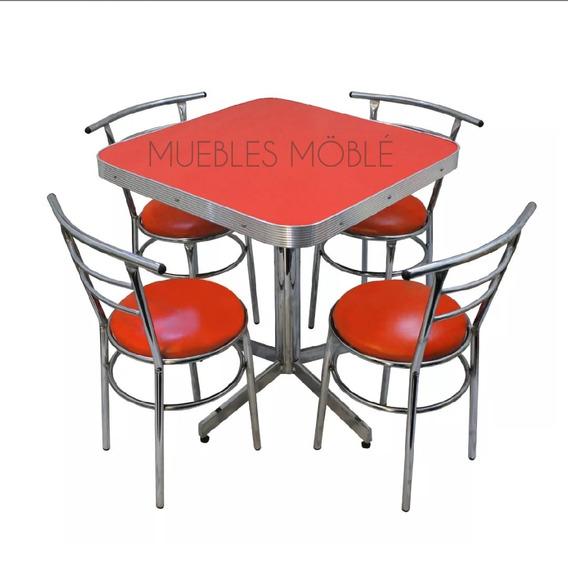 Sillas Y Mesas De Aluminio Para Restaurante O Bar En Mercado
