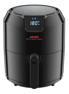 Fritadeira sem óleo Arno Airfry Super Digital preta 127V