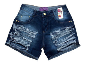 Short Jeans Hot Pants Plus Size 36/54