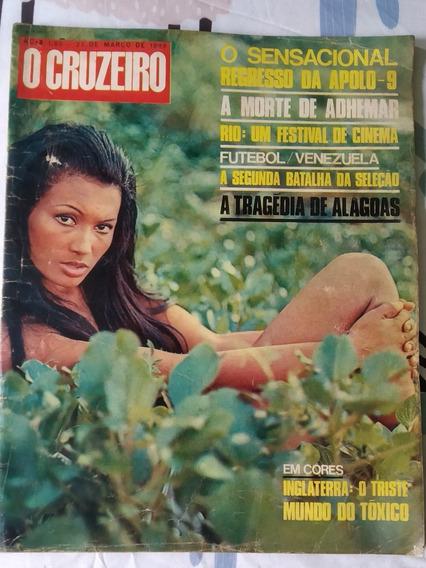 Revista Antiga O Cruzeiro 27 De Março De 1969