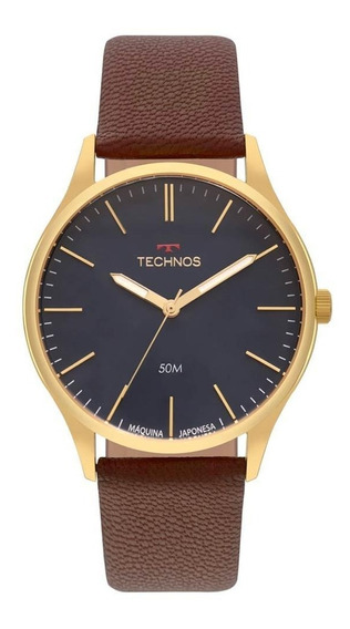 Relógio Technos Masculino Steel Slim 2035mqr/2a