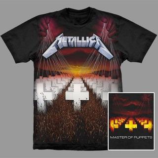 Camiseta Premium Metallica Master Of Puppets.