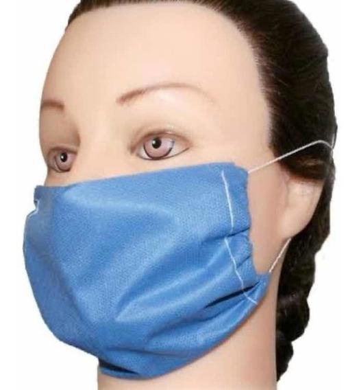 Cubre Bocas Quirúrgicas Evitar Virus, Bacterias. 50 Unidad