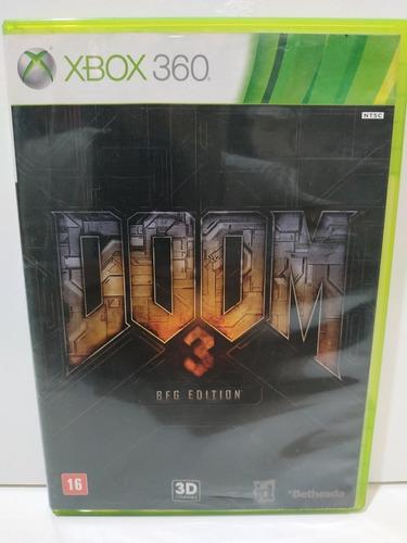 Doom 3 Bfg Edition Xbox 360 Midia Física Original P/entrega