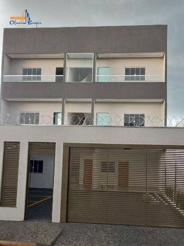 Imagem 1 de 18 de Apartamento Com 2 Dormitórios À Venda, 70 M² Por R$ 170.000,00 - Parque Brasilia Ii - Anápolis/go - Ap0566