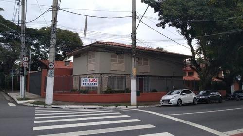 Locação Sobrado - Chácara Santo Antônio, São Paulo-sp - Rr4219