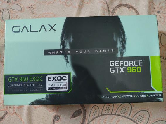 Placa De Vídeo Gforce Gtx 960 Exoc 2gb Galax