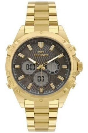 Relógio Technos Ts Digiana Dourado Masculino Bj3814ab/1p